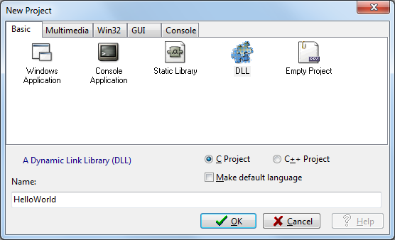 carr3r - Creating a 32/64bit Windows DLL with Dev-Cpp and